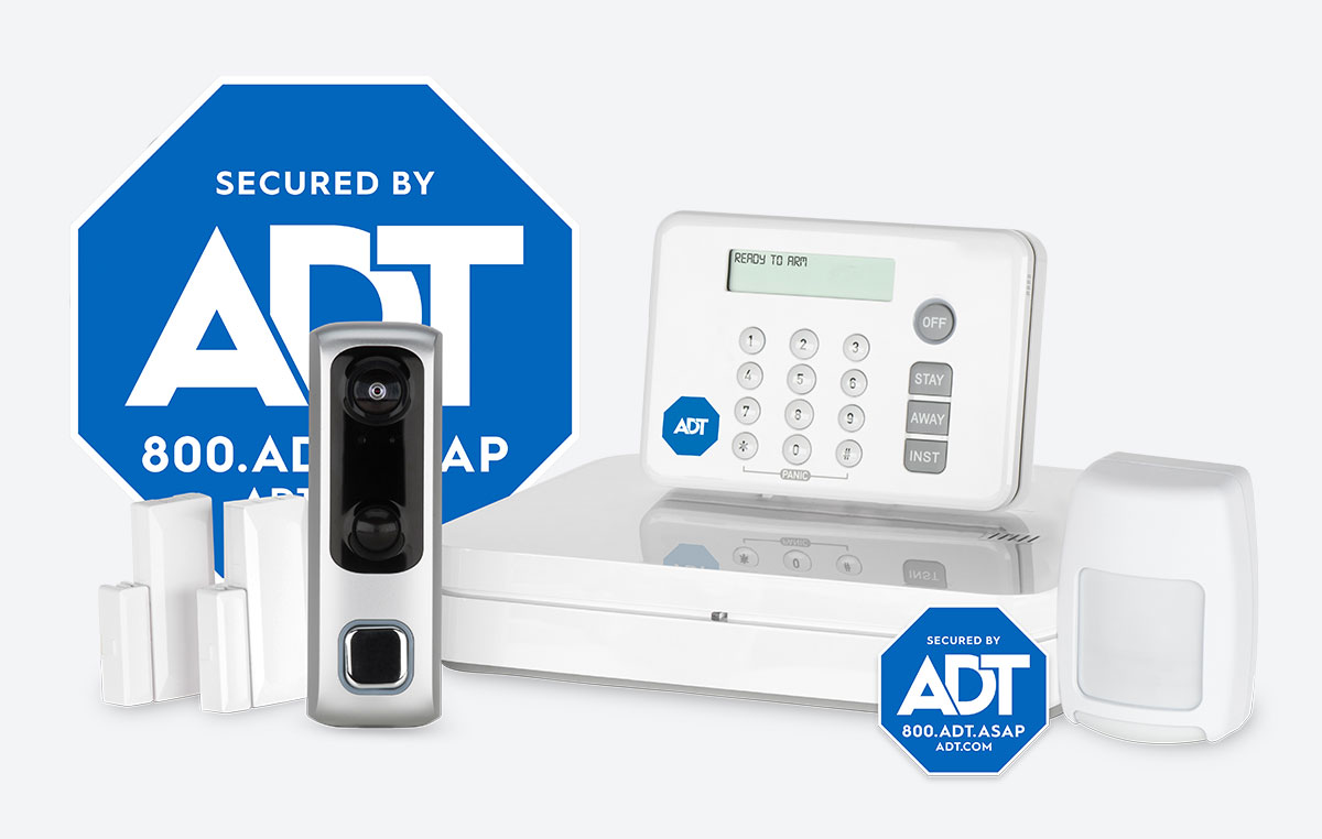 ADT home security equipment package