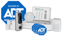 ADT home security equipment  - 8-piece system